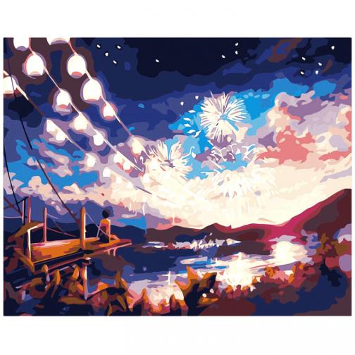 Fireworks számfestő készlet
