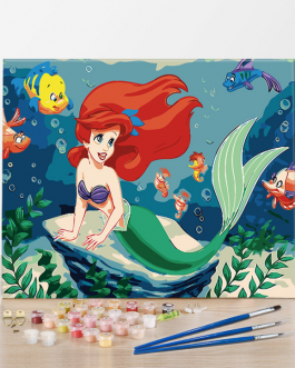 Ariel számfestő készlet