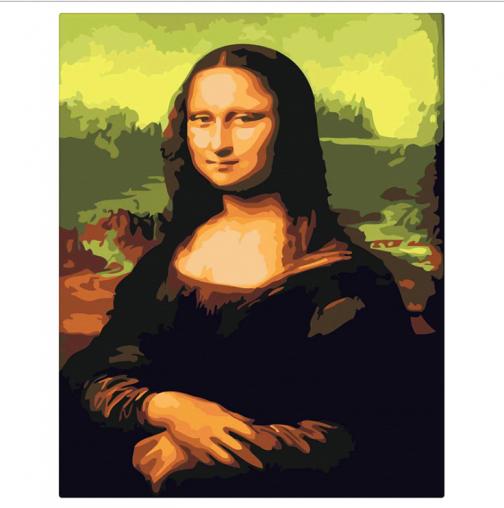 Mona Lisa számfestő készlet