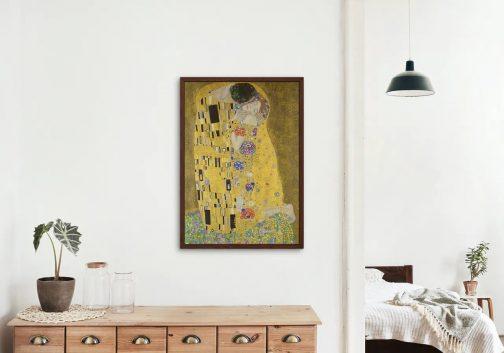 Gustav Klimt - A csók2 számfestő készlet