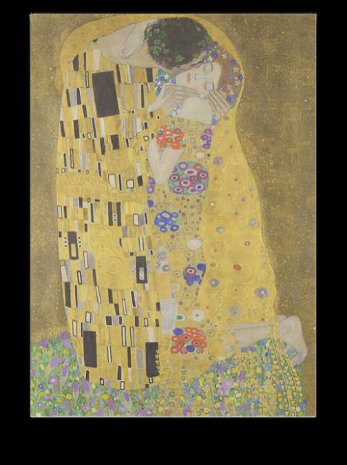 Gustav Klimt - A csók számfestő készlet