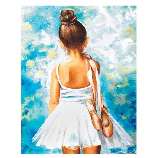 A kis balerina számfestő készlet